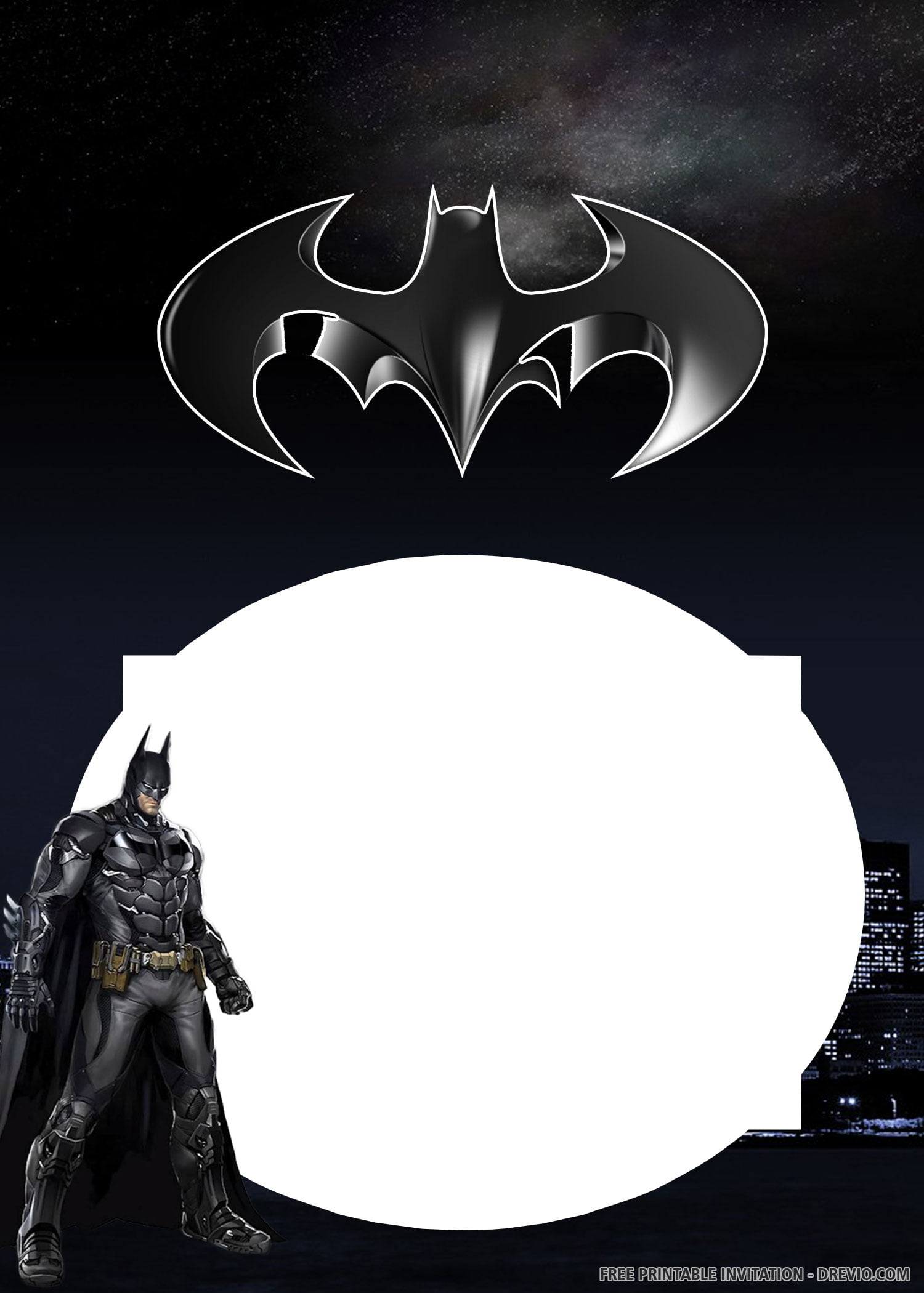 Free Printable Batman Invitation Templates Download Hundreds Free Printable Birthday Invitation Templates