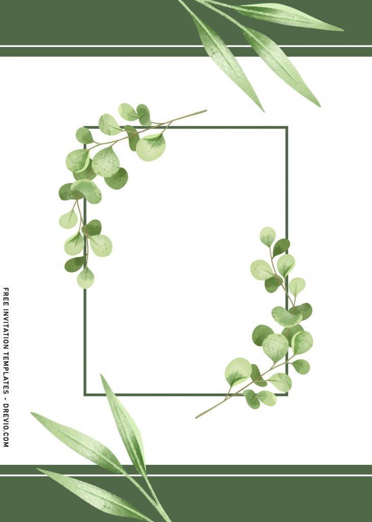 7+ Aesthetic Save The Date Wedding Invitation Templates With Eucalyptus and has gorgeous eucalyptus