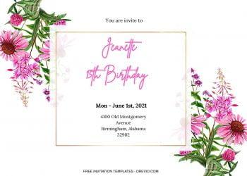 8+ Gardenia Floral Collection For Invitation Templates