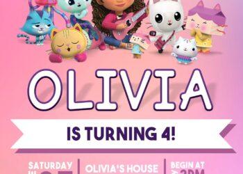 8+ Gabby's Dollhouse Birthday Invitation Templates